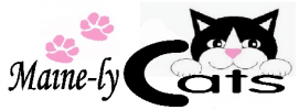 Maine-ly Cats Logo