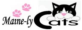 Maine-ly Cats Logo